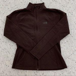 The North Face Fleece Zip Up Sweatshirt